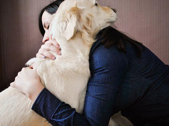 Como abraçar um cachorro