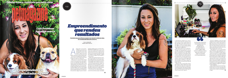 pet magazine halina medina