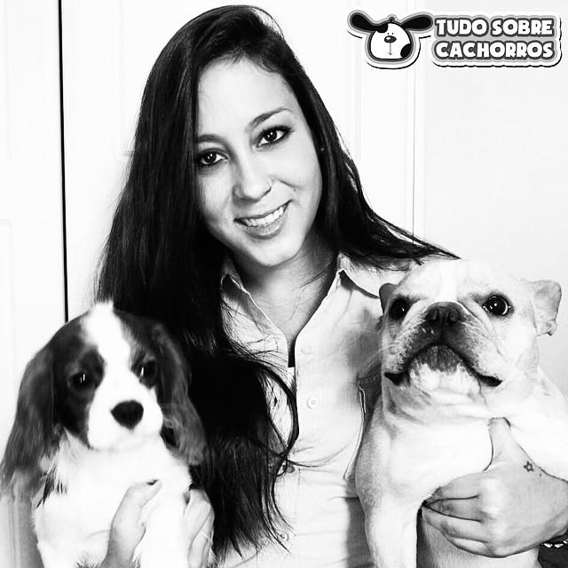Halina Medina Tudo Sobre Cachorros Revista WOW